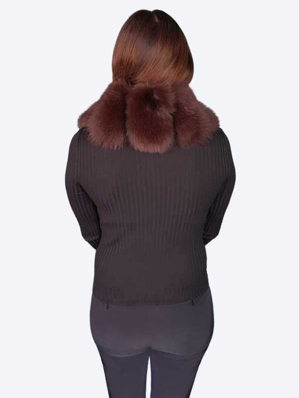 Brown Fox Scarf